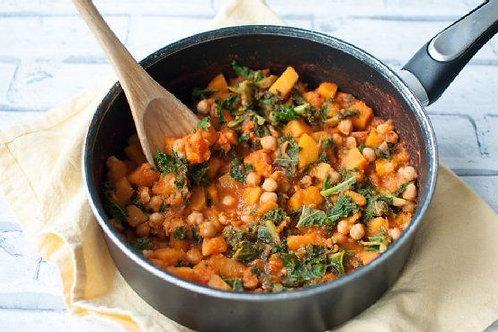Clean eating butternut squash stew