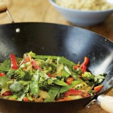 Stir-Fried Vegetables with Miso and Sake