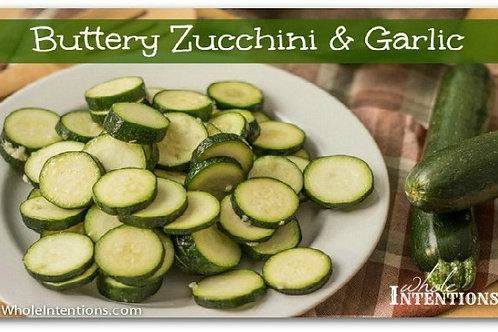 Buttery Zucchini & Garlic