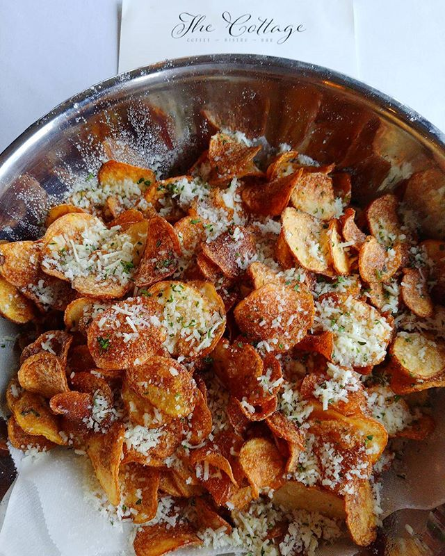 Who doesn't want a big bowl of house made truffle chips___