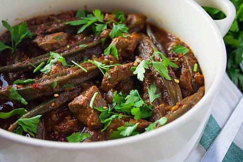 Beef and Okra Stew