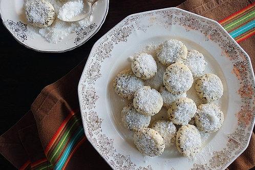 Lemon Coconut Cookies $6 for 12