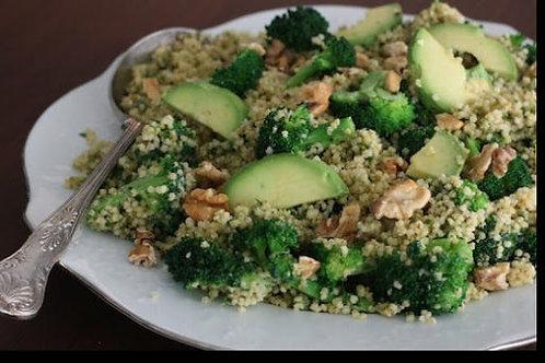 Warm Millet & Broccoli Recipe - (4.5/5)