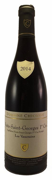 """NUITS-SAINT-GEORGES 1er Cru """" Les Vaucrains """" 2014 Domaine CHICOTOT"""