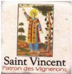 Dessous de Verres Saint Vincent