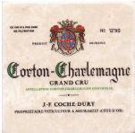 Dessous de Verres Corton Charlemagne