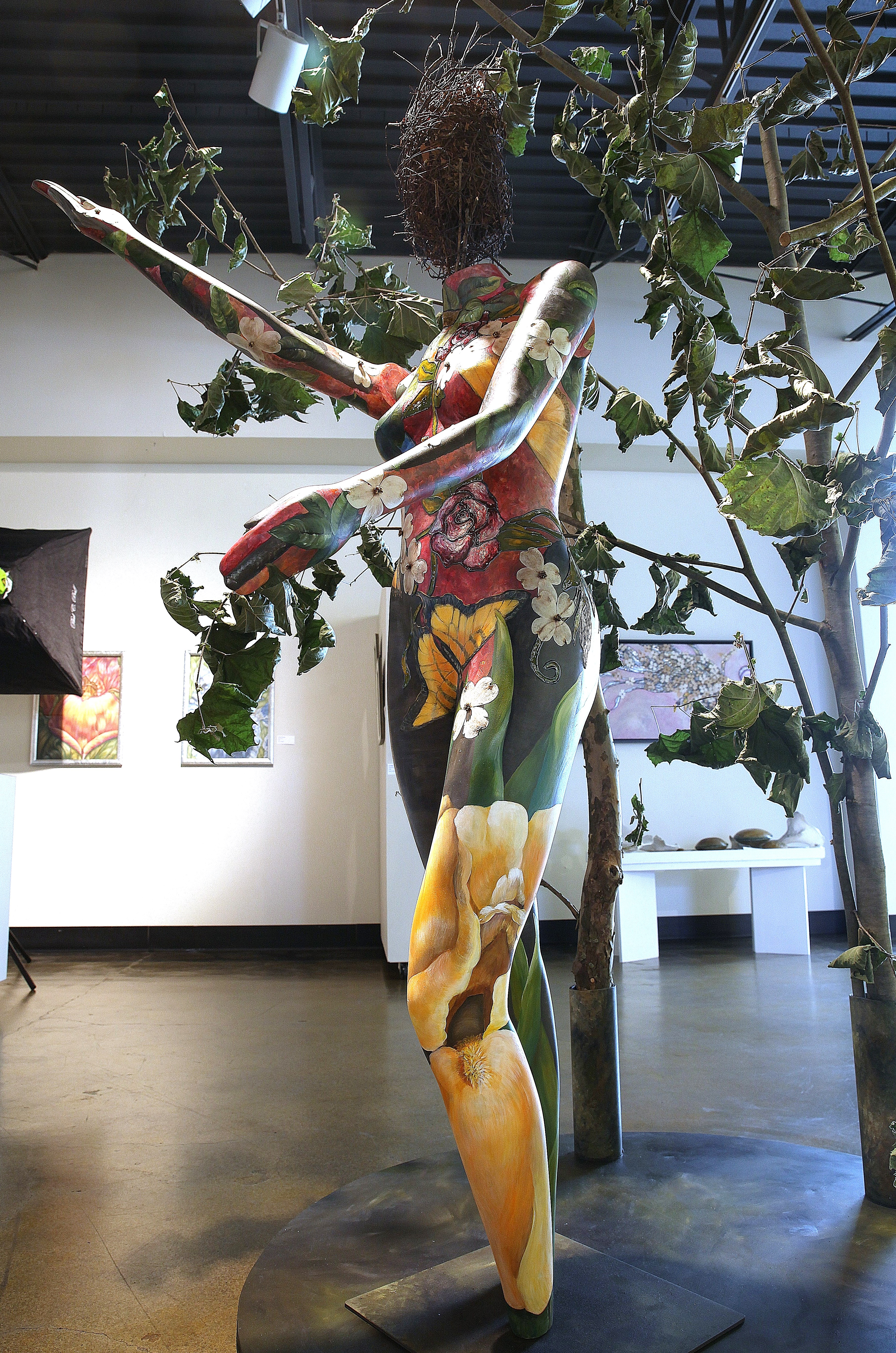 Nature As She - Exhibited