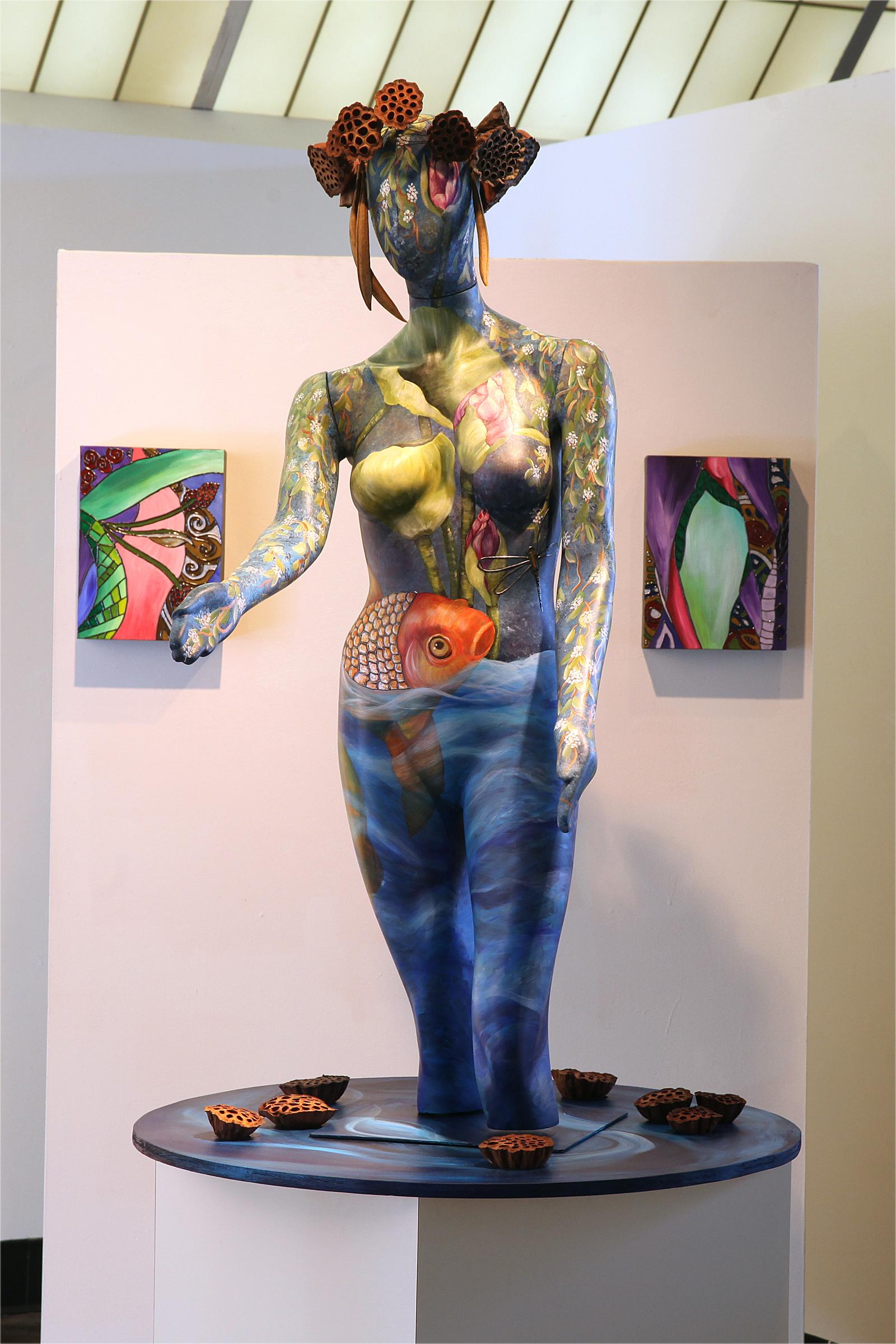Maiden of the Water Lilies - Exhibit