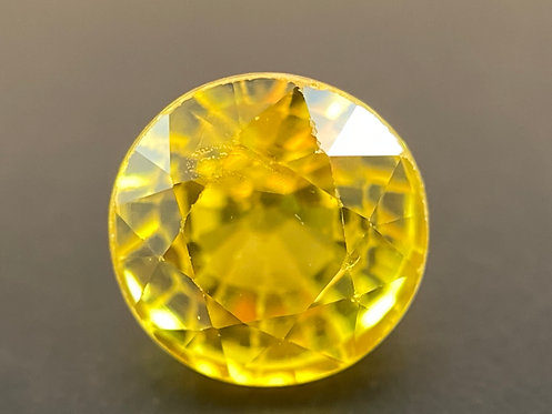 Yellow Sapphire - 0.6 Carats