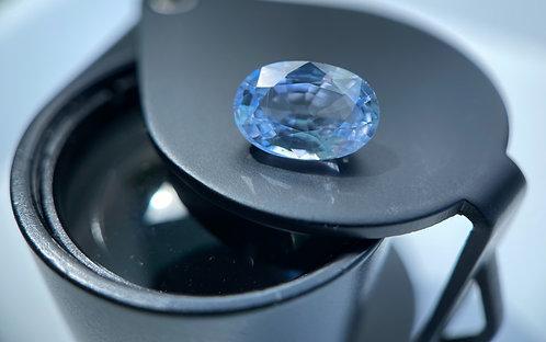 Bluish White Sapphire - 1.51 Carats