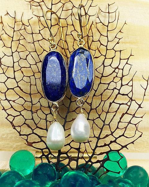 Lapis Lazuli Earrings