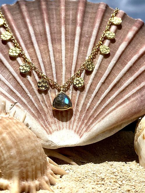 Labradorite Necklace.