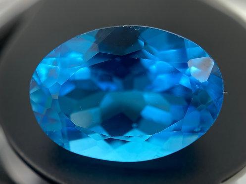 Treated Blue Topaz - 6.84 Carats