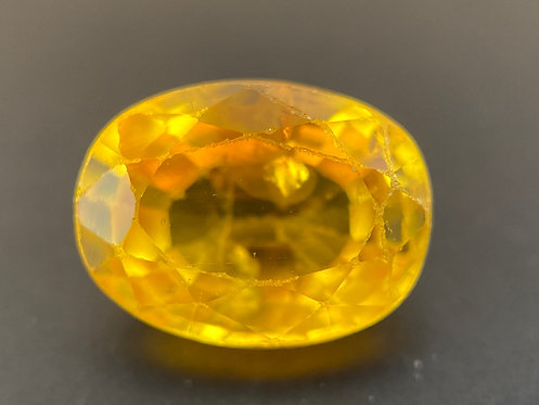 Yellow Sapphire - 0.68 Carats