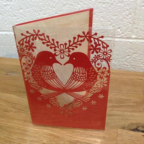 Love Birds Card - Add on.