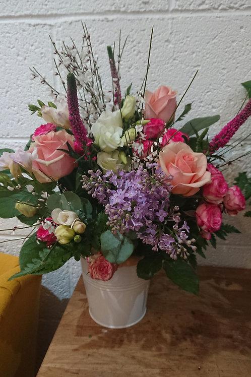 Premium bucketful of flowers