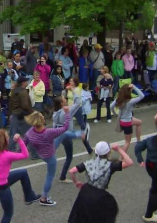 Tulip Time Flash Mob 2012