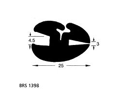 BRS 1398 Glazing Seal