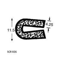 SCR 026 Sponge Profile