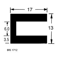 BRS 1712 Square Channel
