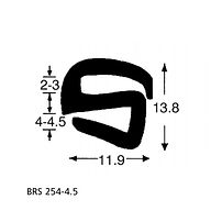 BRS 254-4.5 S Type Rubber