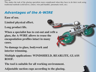 Awire Windscreen Removal Tool