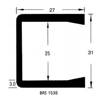 BRS 1538 Square Channel
