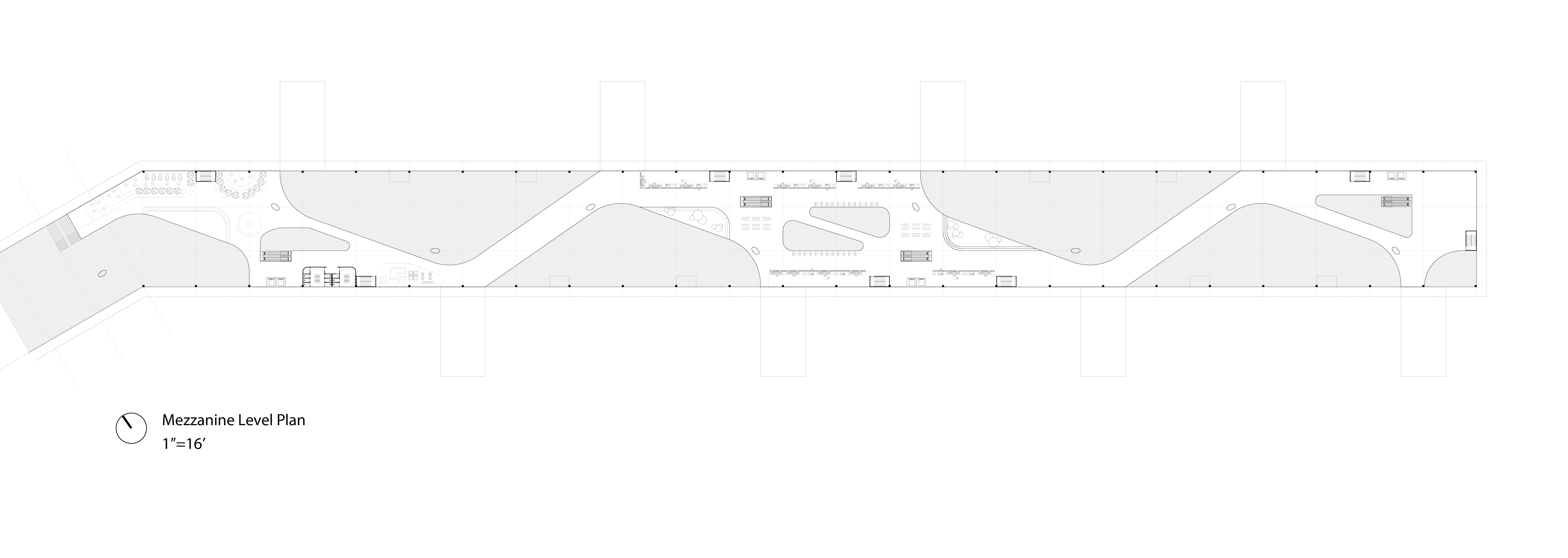 Mezzanine Level Plan