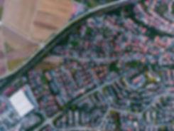 Foto aérea de una ciudad