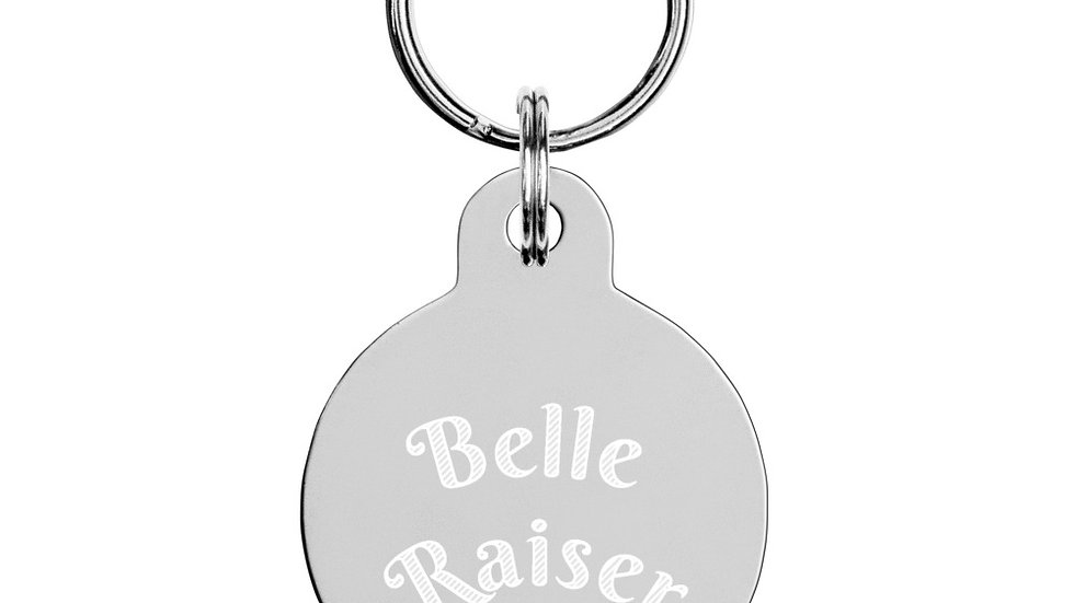 Belle Raiser Key Chain