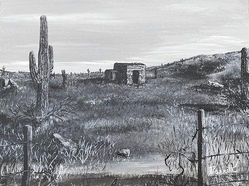 """Abandoned "" Original Painting"