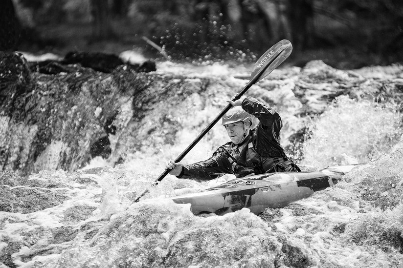 MONO - Cranafest Whitewater Races by Geradette McGuinness (10 marks)