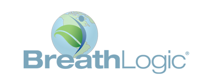 BreathLogic Logo with register symbol FI