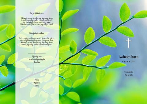 038 Grønne blader