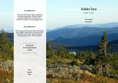 1124 Skog og fjell