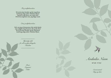 5006 Blågrønne blader