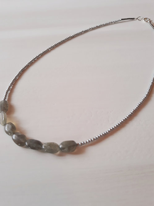 """Stratus"" Beaded Necklace"