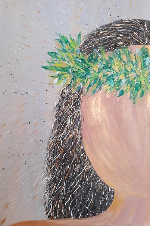 """Lei Po'o"" Painting"