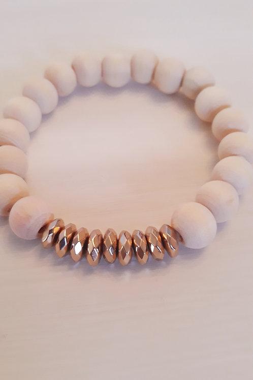 """""""Inner Glow"""" Stretch Bracelet"""