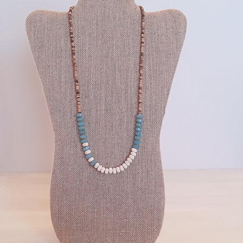 """Shoreline"" Beaded Necklace"