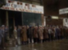 Al Capone's soup kitchen, Chicago, 1931