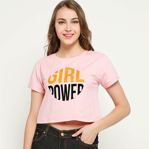 GIRLPOWER Crop Tee