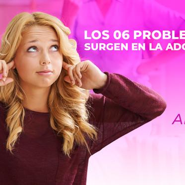 Los 06 problemas que surgen en la adolescencia
