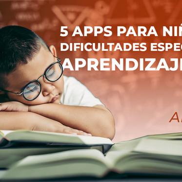 5 APPS PARA NIÑOS CON DIFICULTADES ESPECÍFICAS DE APRENDIZAJE (DEA)
