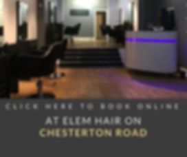 Book Online now at Elem Hair Chesterton