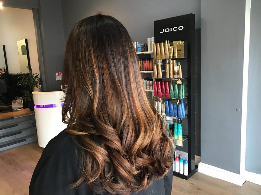Cambridge Hairdressers   Stunning Balayage