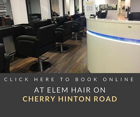 Book Online now at Elem Hair Cherry Hint