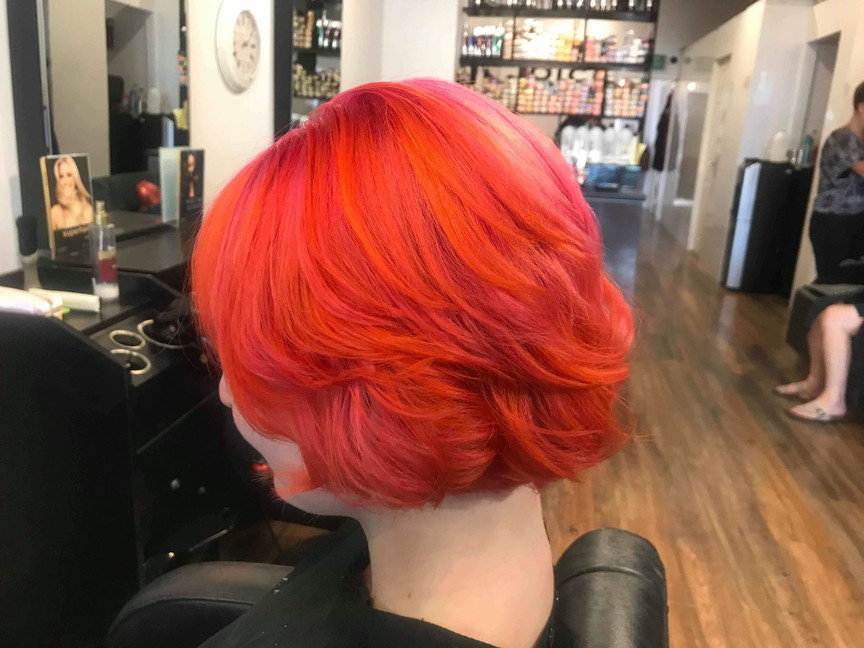 Fiery Red   Hair Colour In Cambridge