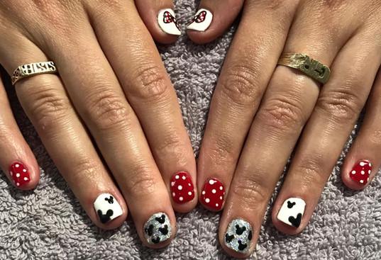 Disney Nails | Beauty by Pippa | Elem Hair Cherry Hinton Road