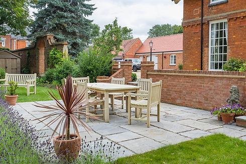 Large UK property, house with back garde